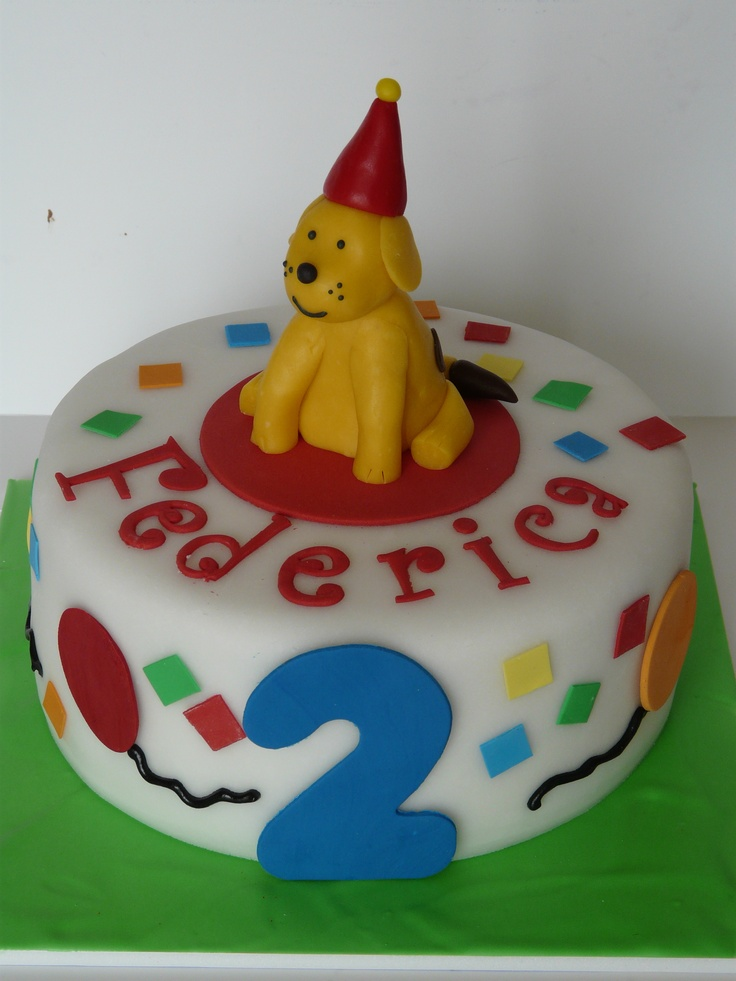 Dog Shaped Birthday Cakes For Kids images