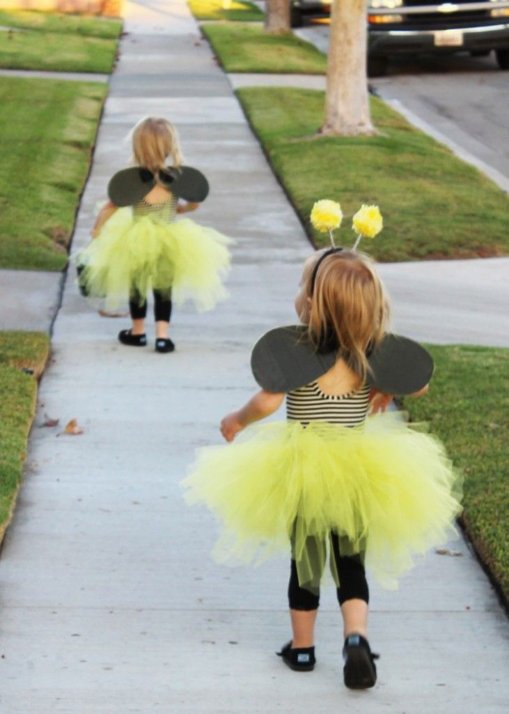 two little frills: bumble bee DIY halloween costume