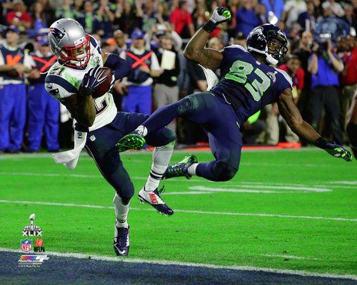 Malcolm Butler The Interception Patriots Super Bowl Xlix Premium Poster Print Patriots Superbowl Super Bowl Super Bowl Xlix