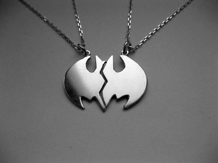 Batman bestfriend necklace. I love this! Super expensive though