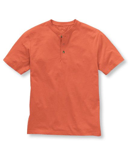 Carefree Unshrinkable Tee, Traditional Fit Henley: Henleys | Free Shipping at L.L.Bean