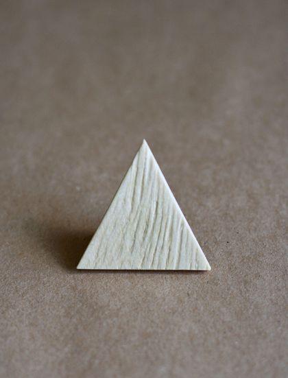 Брошь-галстук Древесная. Дизайн и изготовления - Елена Ква.