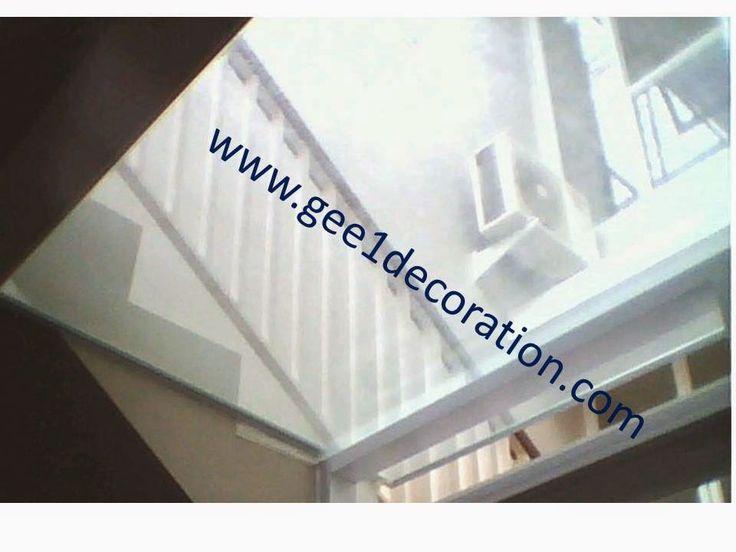 aluminium, kusen, kaca, partisi,  pintu, jendela, lipat, geser, swing, jungkit, pivot, sliding, : atap canopy kaca laminated