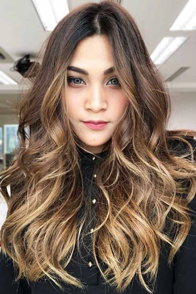 24 Flattering Haircuts And Hairstyles For Diamond Face