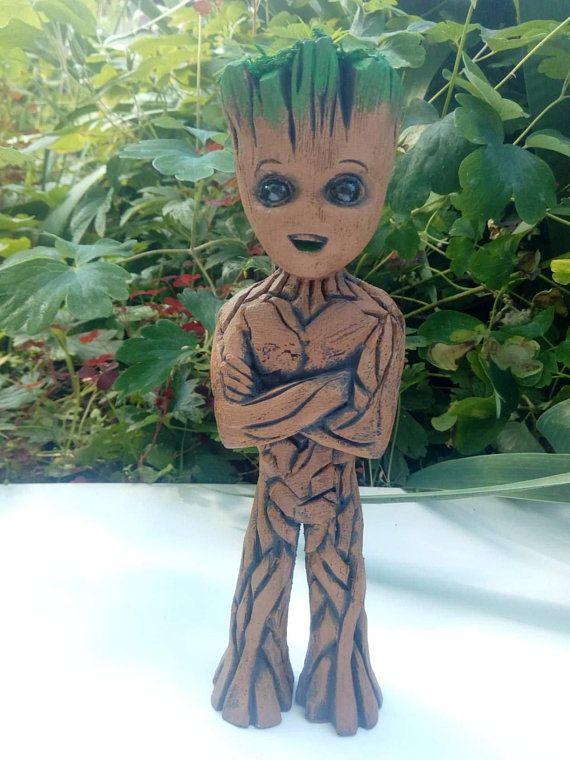 I Am Groot Baby Groot Groot Wooden Baby Groot Little Groot