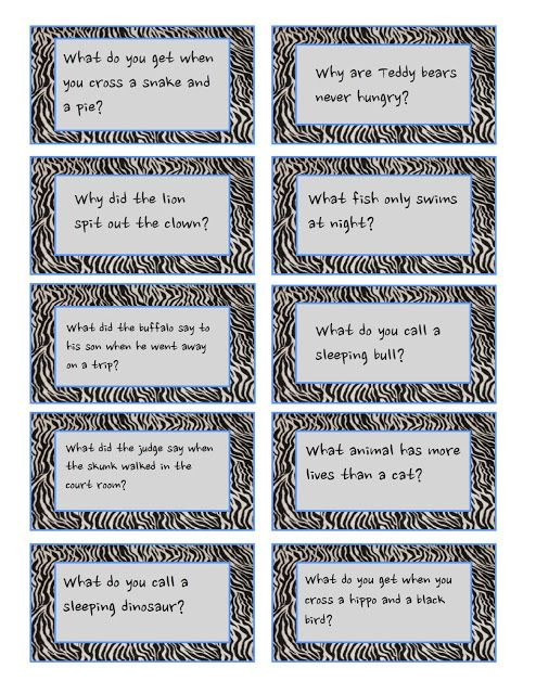 Redfly Creations: Pack a Laugh in Your Child's Lunch! - Free Joke Printables