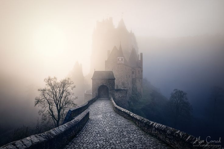 Eltz castle - The famous medieval castle sits hidden in the hills above the valley of the river Mosel. On that particular morning the scenery was very special and spooky as the fog just reached up to the castle with the sun glaring through, also we were the only people around at that time. Usually I don't post more than photo in a row of a certain subject but this one is hard not to show, what do you think?
