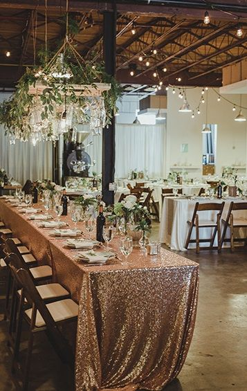 Unique Edmonton Wedding Venue Iconoclast Koffiehuis, Decor by @SEREvents, Photo by Kristin Zabos