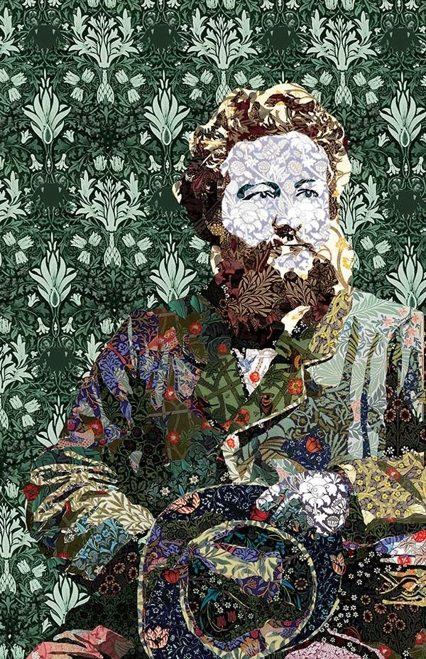 William Morris in all his patterned glory!