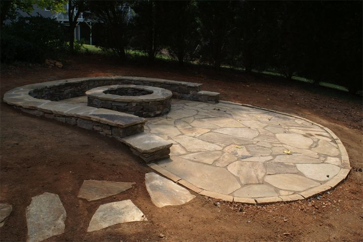 Filler For Stone Patio : Best images about patio on pinterest fire pits stone