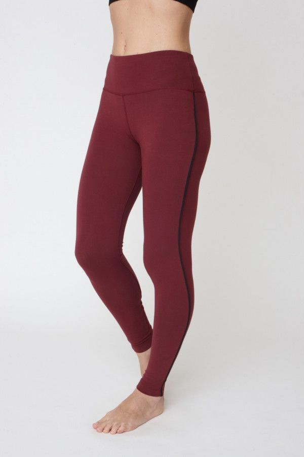Flow With It Leggings Claret Navy In 2018 Aw18 Collection