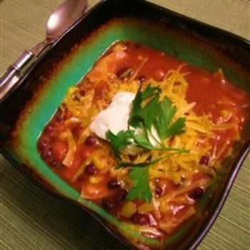 Vegetarian Tortilla Stew