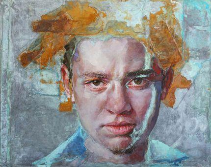 Piet van den Boog   Bruised and Battered  Mike Weiss Gallery