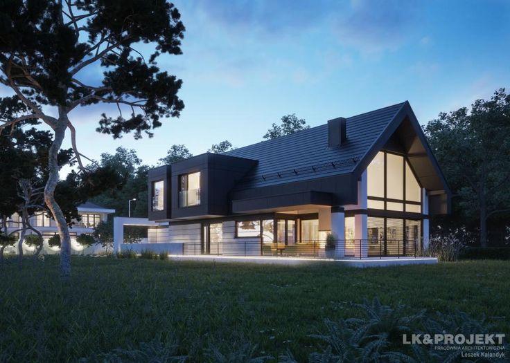 Projekty domów LK&Projekt LK&1336 wizualizacja 14
