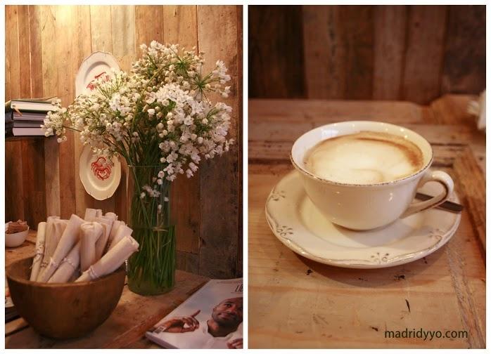 Olive, café + crêpes en Conde Duque | www.madridyyo.com