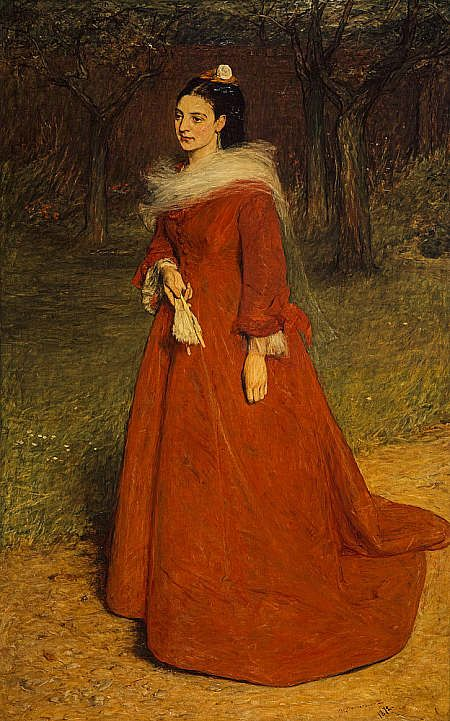 The Artist's Wife (Ellen Moxon, Lady Orchardson) by Sir William Quiller Orchardson (Scottish, 1832-1910)