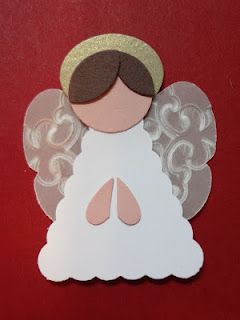 Punch art Angel Stampin' Up!