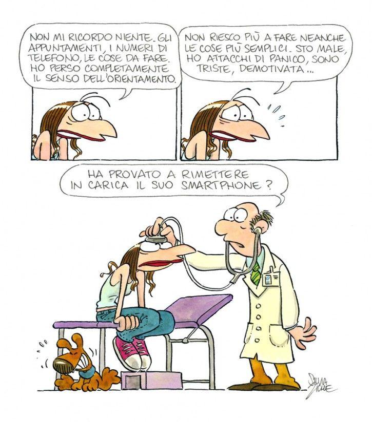 Vignetta Lucrezia dal medico