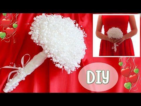 Как сделать свадебный букет невесты из бусин - Ярмарка Мастеров - ручная работа, handmade