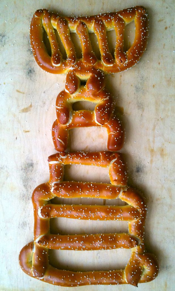 Stanley Cup Pretzel - Just in case you're really getting creative