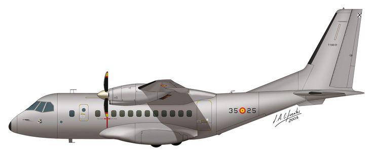 CASA CN-235 - Ala 35 del Ejercito del Aire