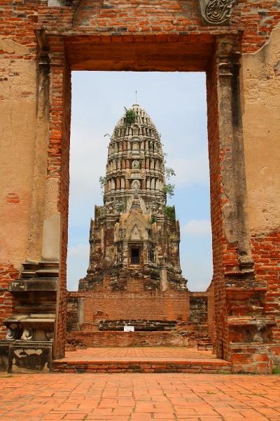 Temples of Thailand: Wat Ratchaburana, Ayutthaya, Thailand.