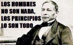 Frases célebres de Benito Juárez