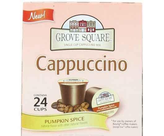 Yum! Pumpkin Spice Cappuccino K-Cups! Perfect for Fall!