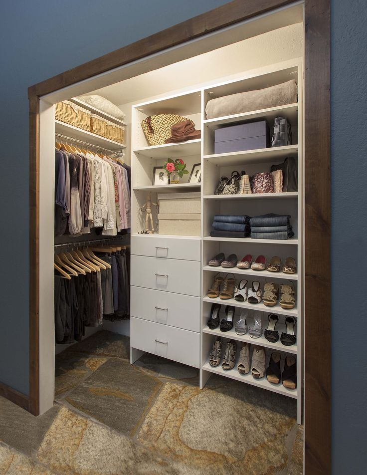 Reach In Closet Design Measurements Corner Shelves   Google Search