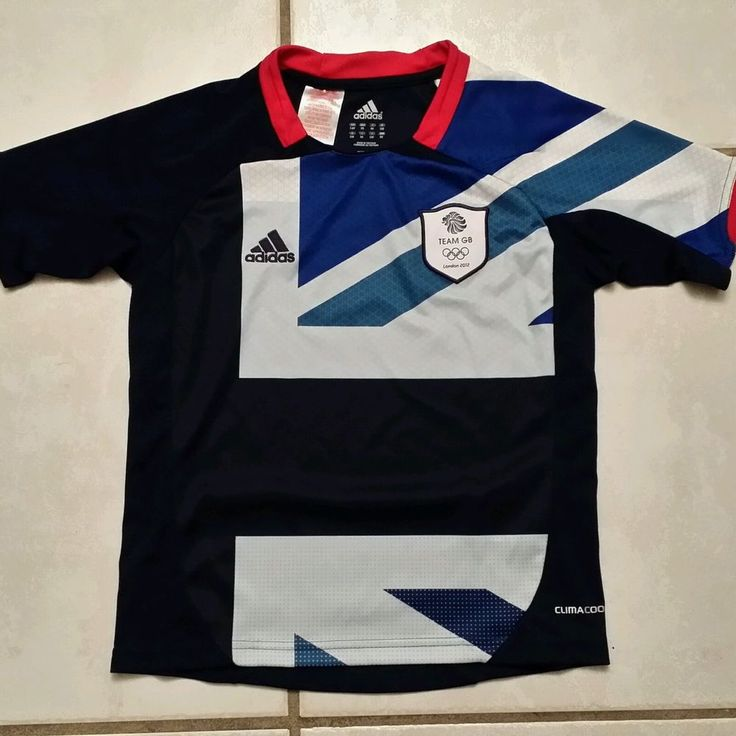 Rare ADIDAS CLIMACOOL Team GB Olympics London 2012 Soccer Jersey Youth XS in Sports Mem, Cards & Fan Shop, Fan Apparel & Souvenirs, Soccer-National Teams | eBay