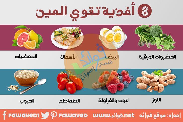 اغذيه مفيده للعيون اغذية تقوي العيون فوائد Good Foods To Eat Foods To Eat Best Foods