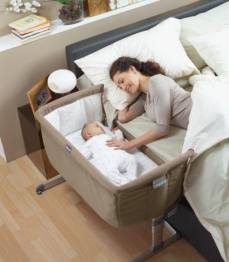 CHICCO Next to me tiene variedad de usos para mantener al bebé cerca de su mamá