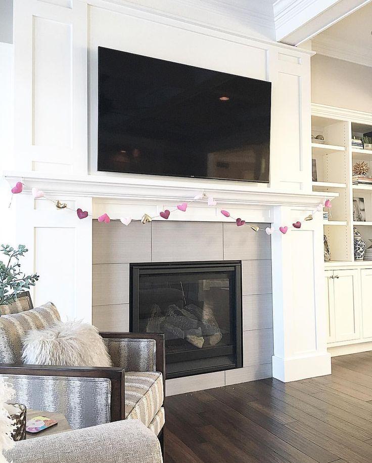 Custom Fireplace And Mantel Benjamin Moore White Dove Valentines