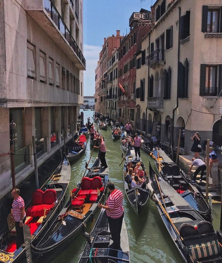 Venetian trafiic jam