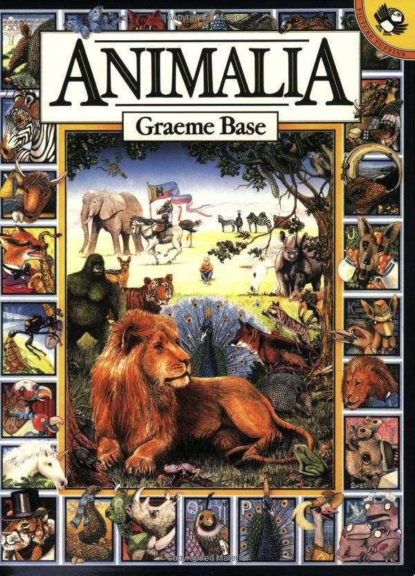 Animalia by Graeme Base: A phantasmagorical alphabet book for all ages. via amazon #Book #Alphabet #Graeme_Base
