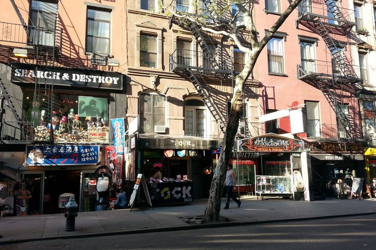 St. Marks Place may not be long, but it's got a weird, storied history