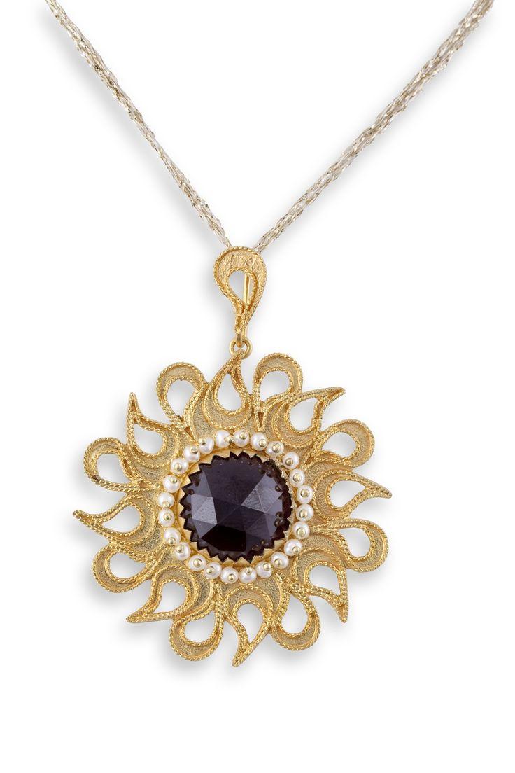 Gold filigree pendant  Pendente in filigrana in oro 18Kt  Loredanamandas.com