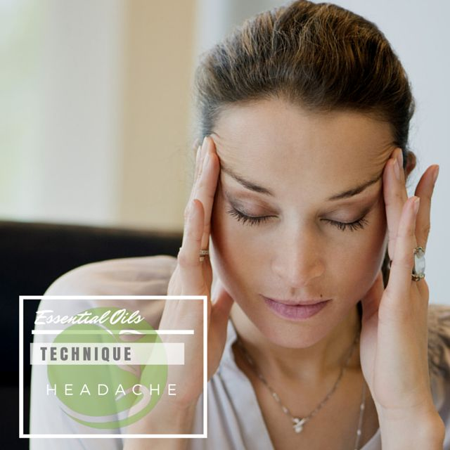 Soothe a headache by mixing two drops each of Peppermint, Eucalyptus, and Lavender essential oils per six drops of carrier oils.  Massage into temples, behind ears, on back of neck, across forehead and under nose for quick relief.
