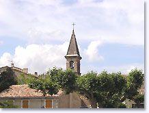 Saint Pantaleon les Vignes, torenspits
