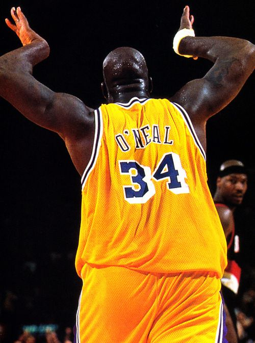 Shaquille O'Neal- never was a Shaq fan. But the dude was dominant.