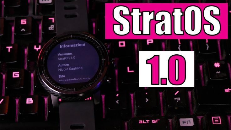 StratOS 1.0, Italian ROM for the AmazFit Stratos smartwatch. This ROM is for AmazFit Stratos and is not compatible with AmazFit Pace, do not install it on PACE! Source: StratOS 1.0: Italian ROM for the AmazFit Stratos   Nicola Sagliano