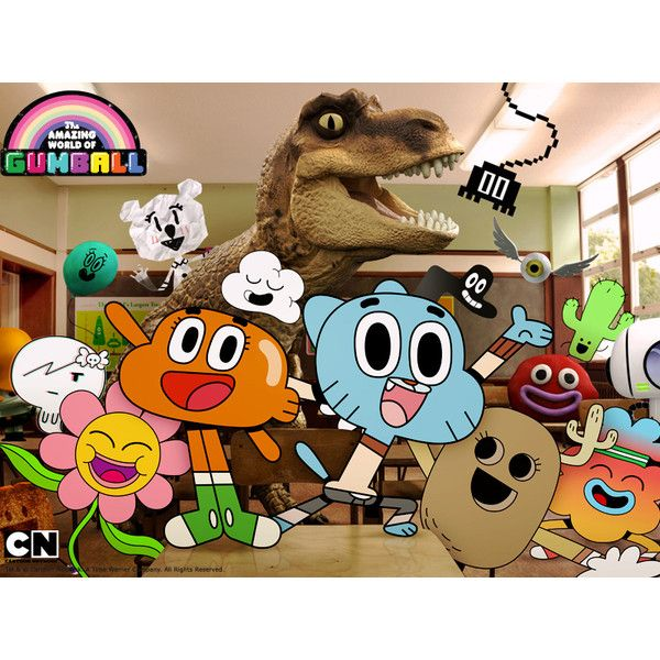 The Amazing World of Gumball | Meet the Characters| Cartoon Network ❤ liked on Polyvore