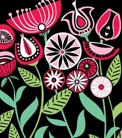 Dianne Skylacos  Glorious.: Music Pattern, Dianne Skylaco, Diane Skylaco, Design Grafic, Pattern Inspiration, Modern Floral, Fabrics Inspiration, Skylaco Glorious, Nice Prints