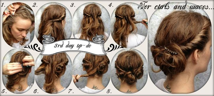 3rs day updo