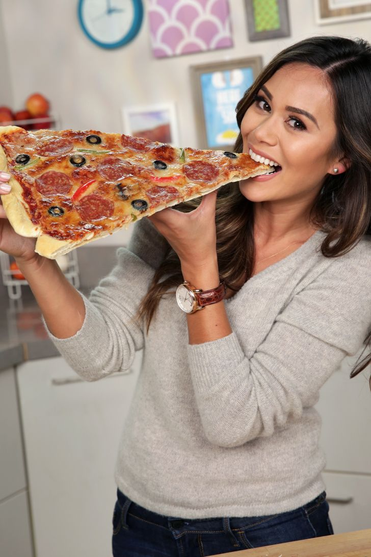 This giant pizza slice is the dinner of your dreams, but no, you don't have to share! #ForGameNight
