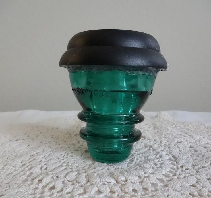 56 best images about telephone insulator ideas on for Glass insulator ideas