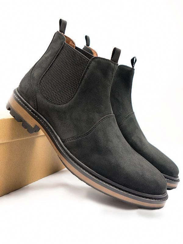 Chelsea boots, Boots, Vegan leather boots