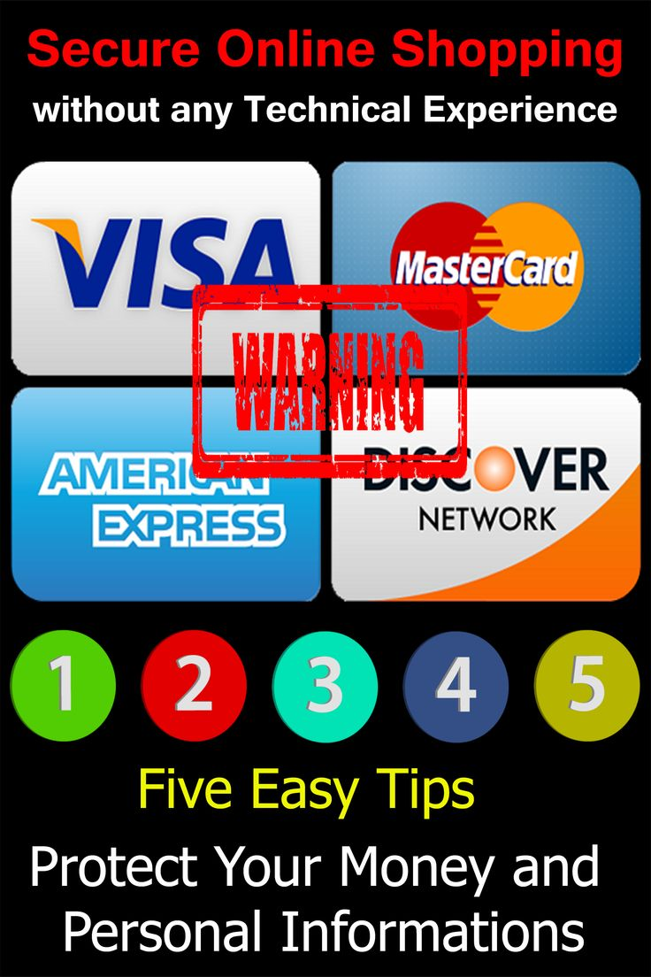 Online shopping credit card security fun website