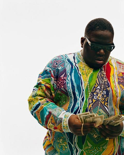 Damn Biggie, nice sweater. You knew what was up
