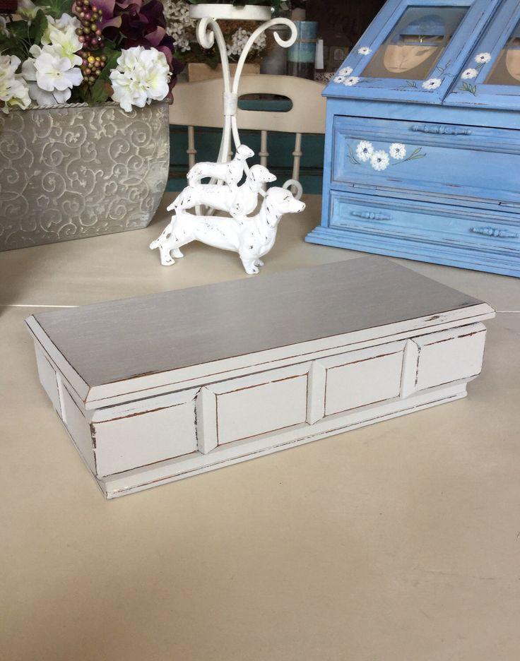 Men's Butler Box  / Men's Jewelry Box / Vintage Men's Valet Box / Painted Wood Men's Jewelry Box by ByeByBirdieDesigns on Etsy https://www.etsy.com/listing/507833025/mens-butler-box-mens-jewelry-box-vintage
